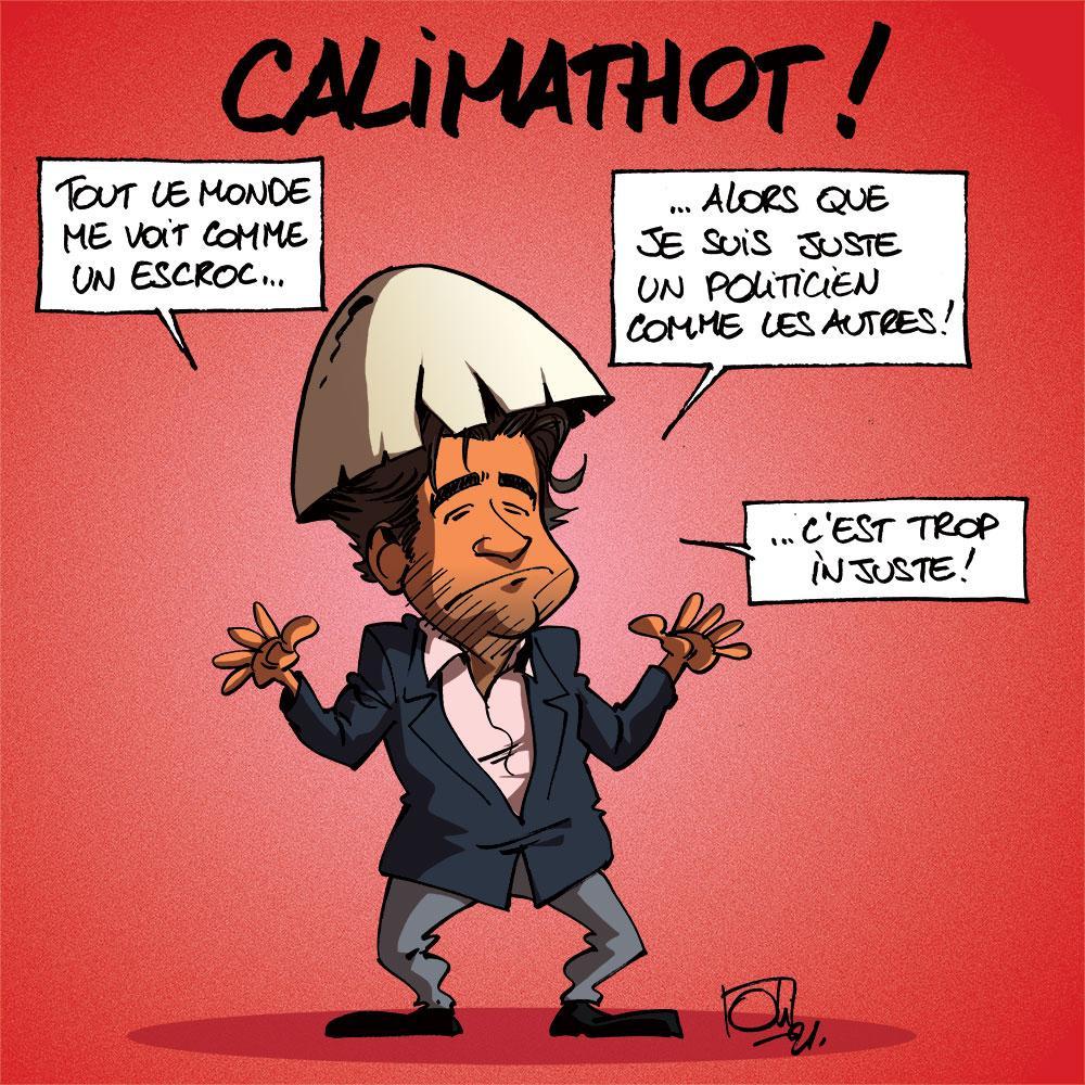 Alain Mathot en Calimero