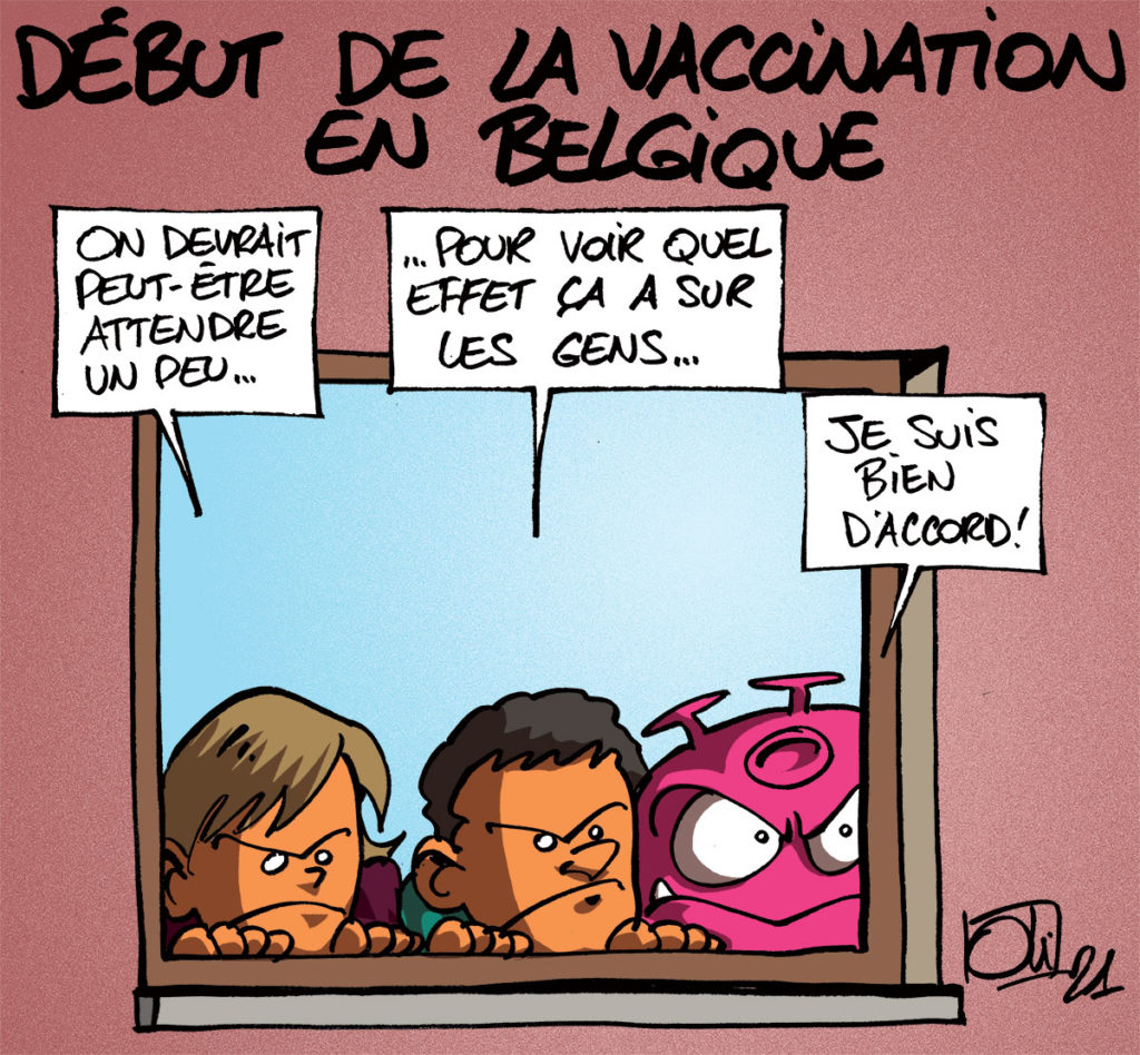 Vaccination en Belgique