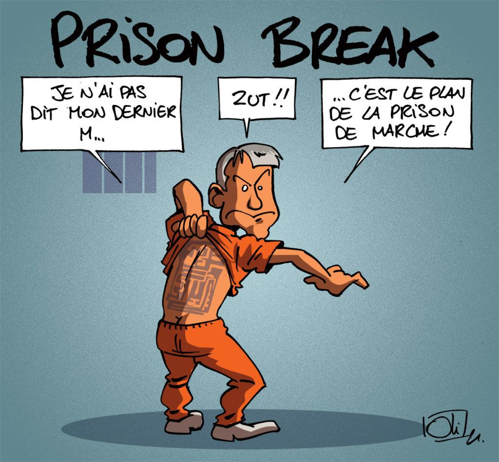 Moreau reste en prison
