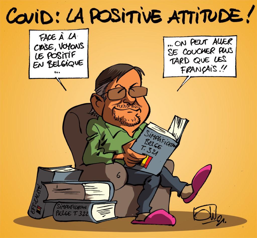 Rester positif...