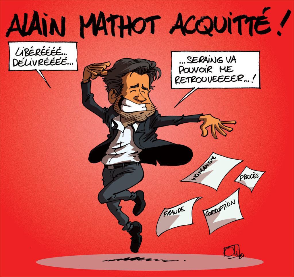 Alain Mathot acquitté