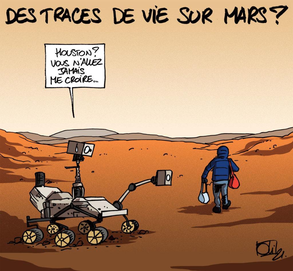 Persévérance est sur Mars