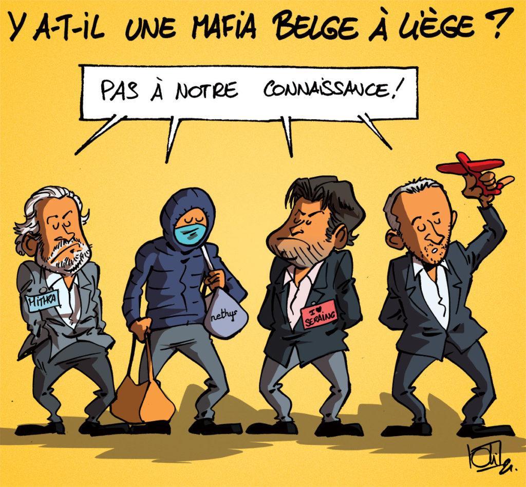 Une mafia belge