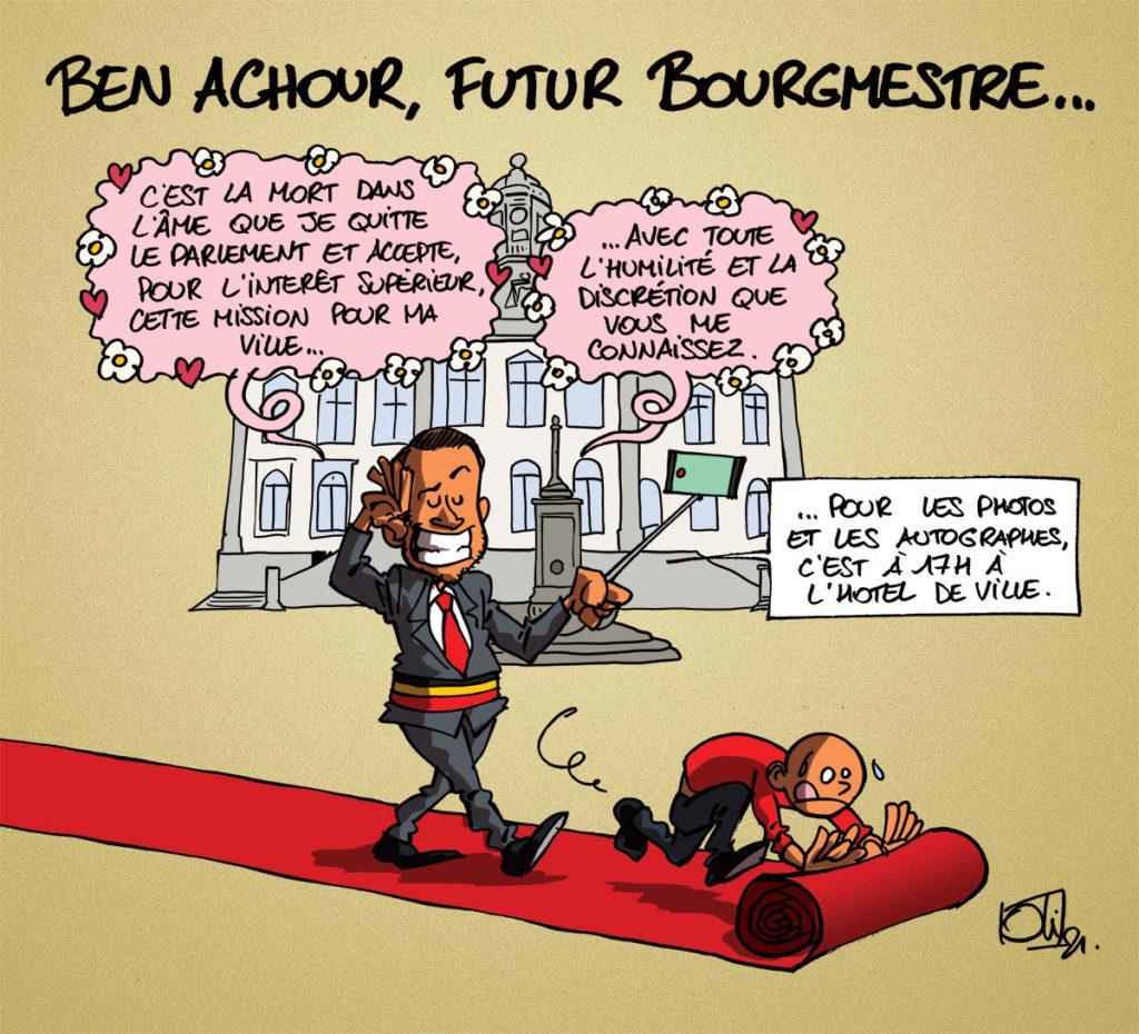 Malik Ben Achour bientôt bourgmestre ?