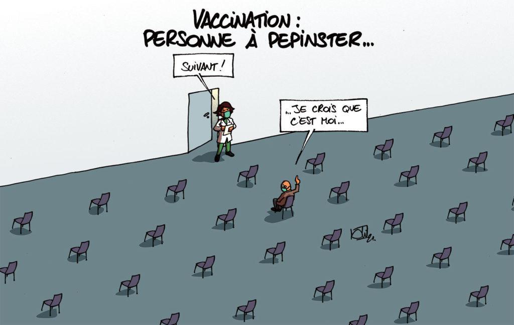 Vaccination en attente