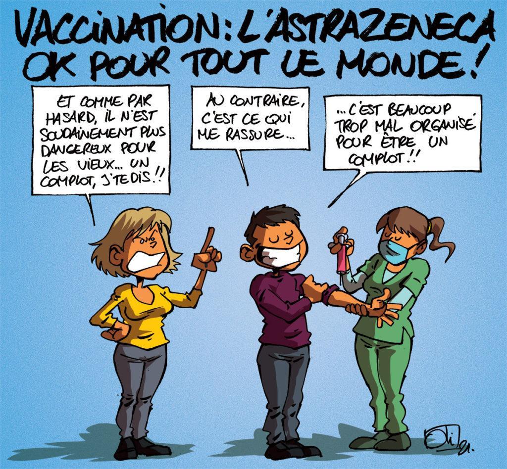 Le vaccin d'AstraZeneca pour tout le monde !