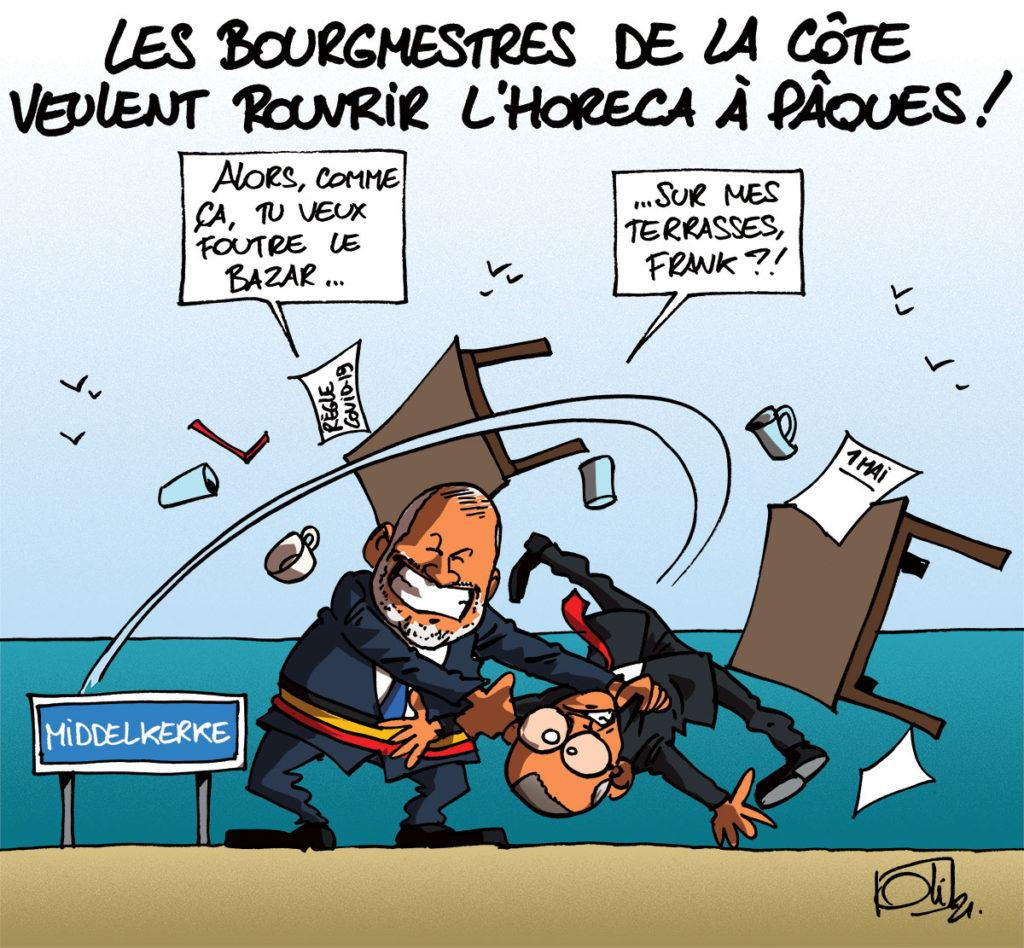 À la côte belge, les bourgmestres râlent !