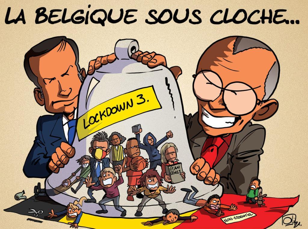 La Belgique sous cloche