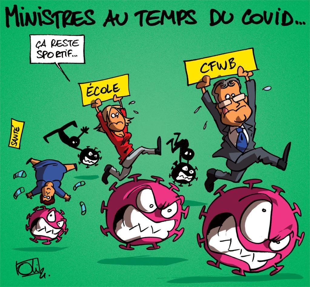 Ministres au temps du Covid-19