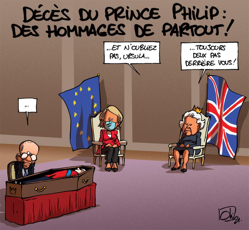 Mort du Prince Philip