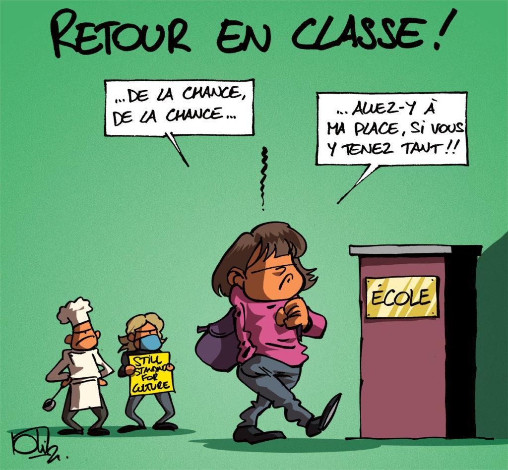 Retour en classe !