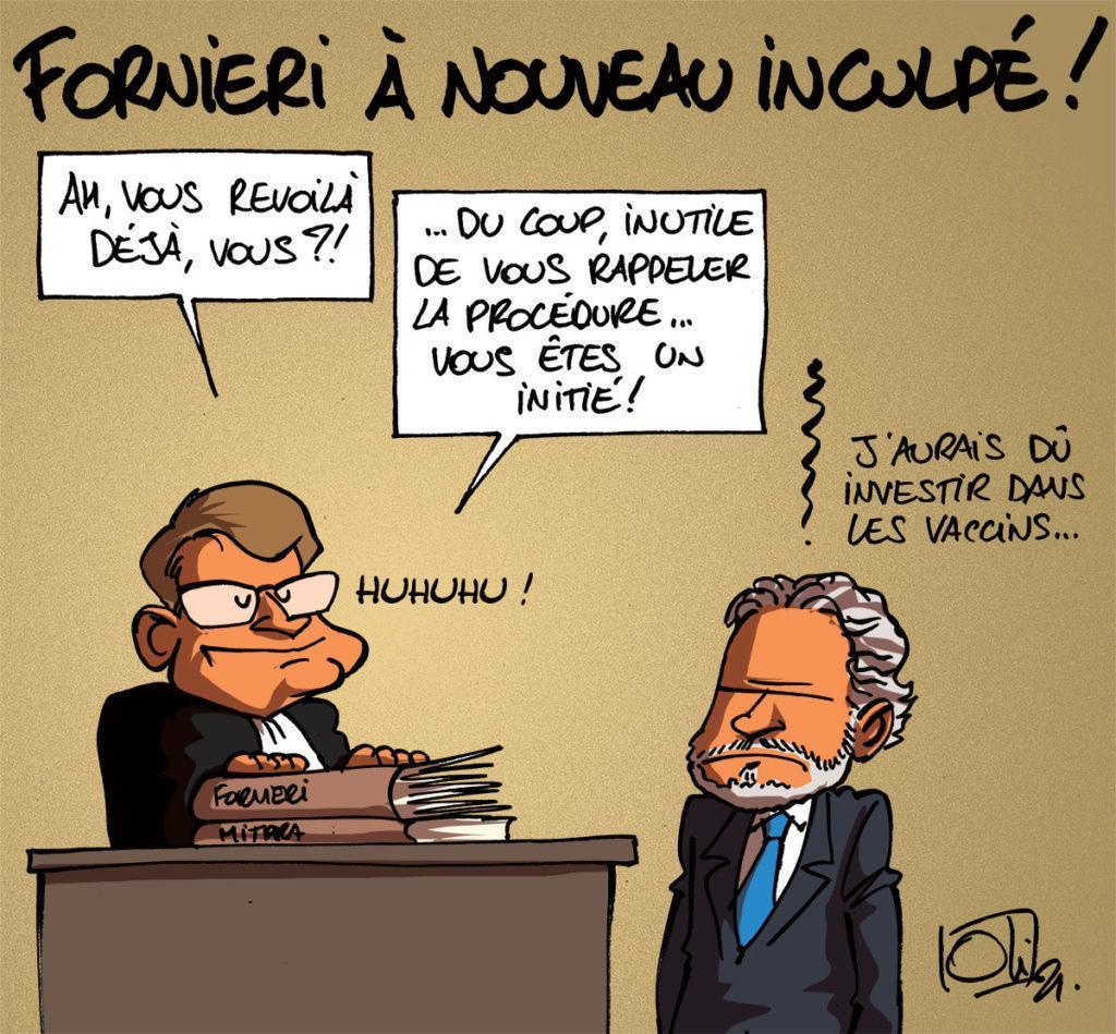 François Fornieri inculpé