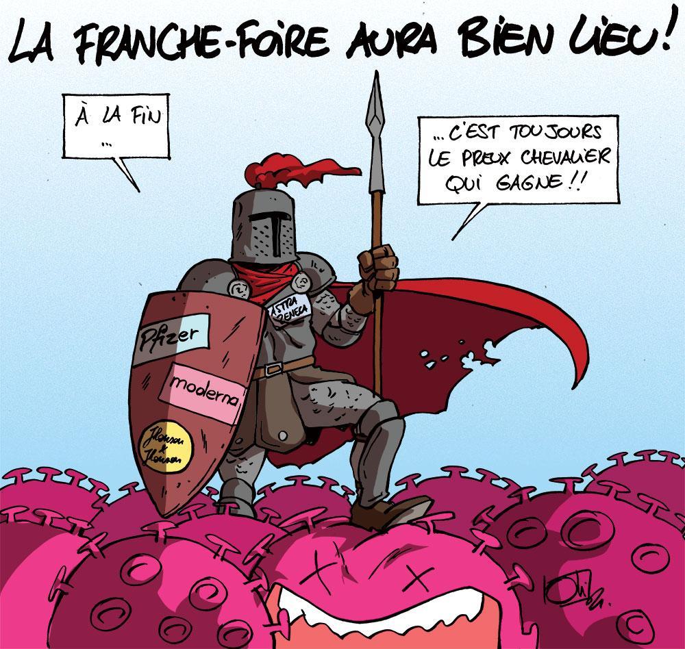 La foire médiévale de Franchimont
