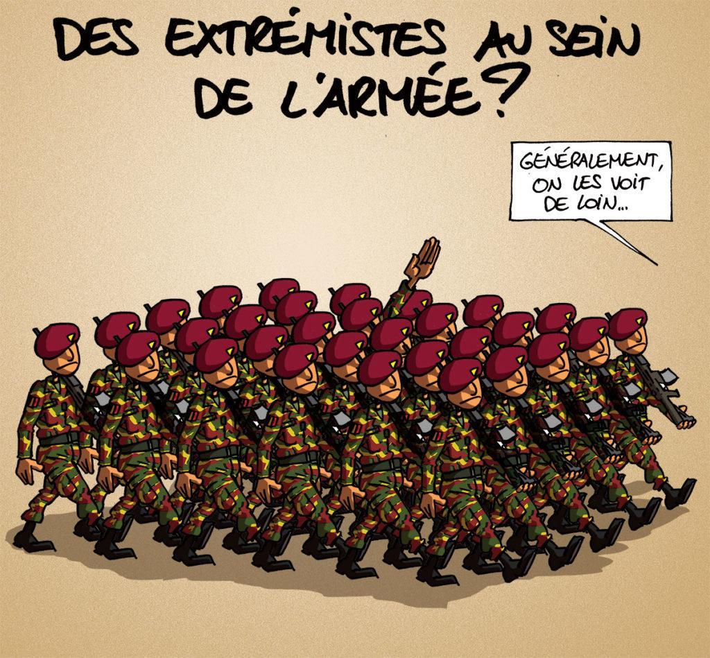 Des extrémistes dans l'armée