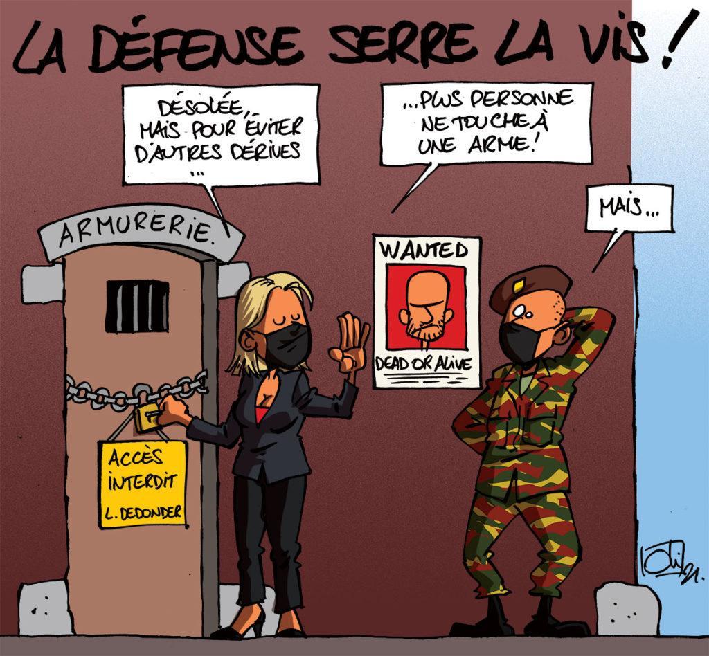 Ludivine Dedonder serre la vis à la Défense