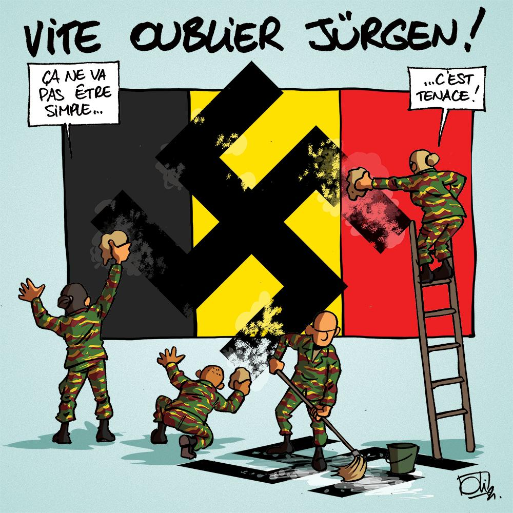 Jürgen a marqué l'armée...