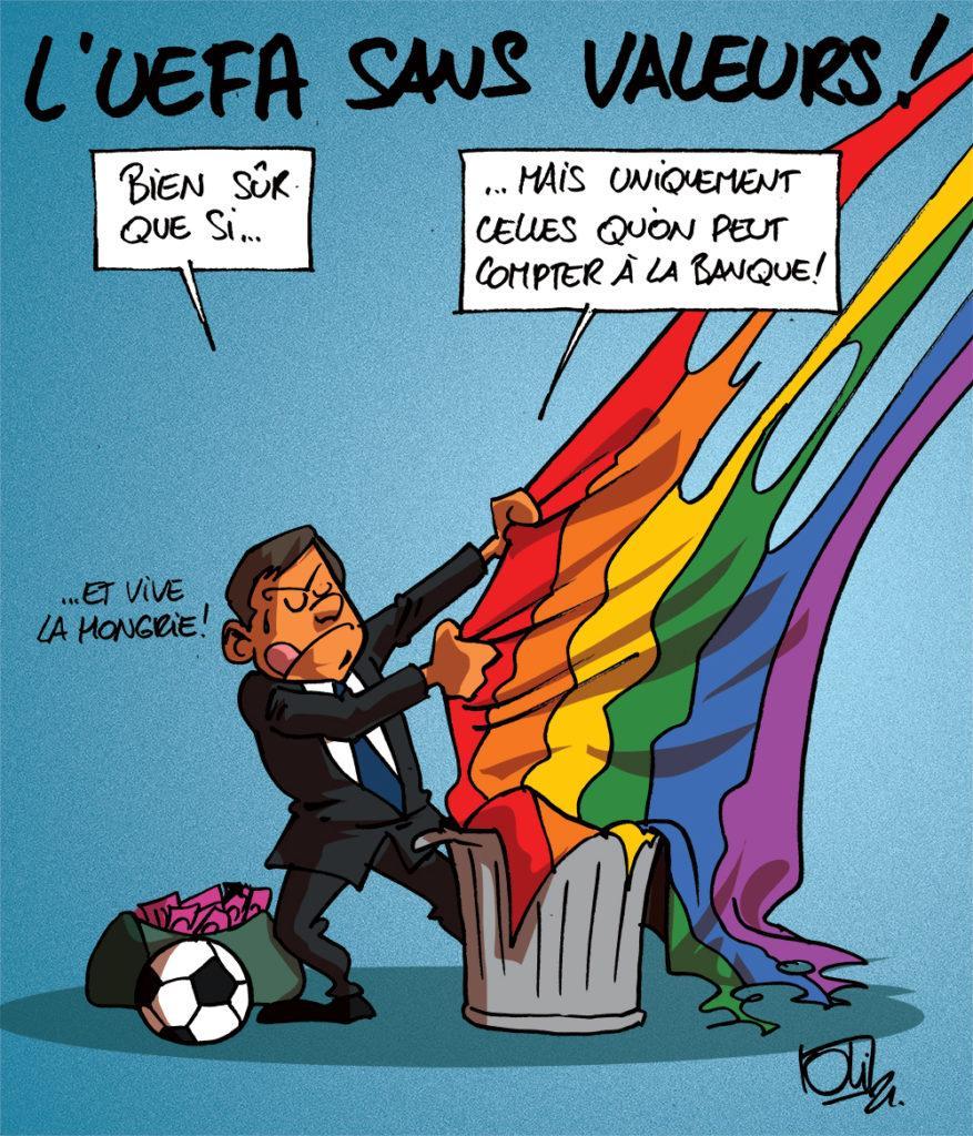 L'UEFA homophobe ?