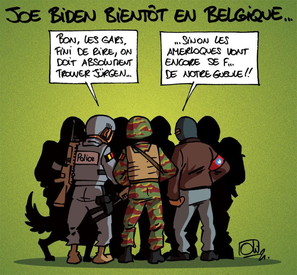 Joe Biden en Belgique
