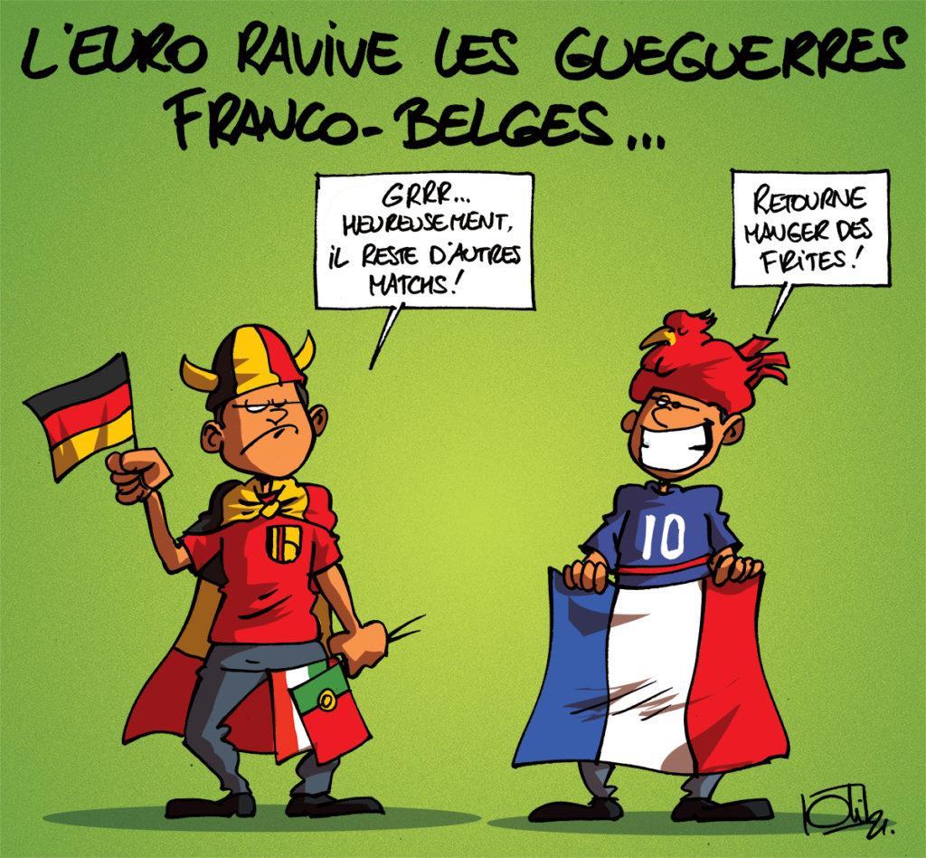 La France bat l'Allemagne