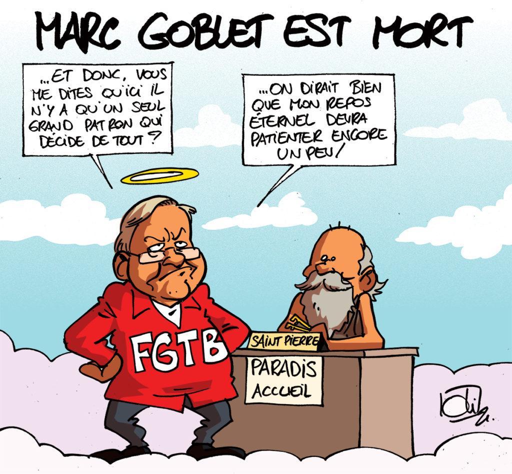 Marc Goblet est mort