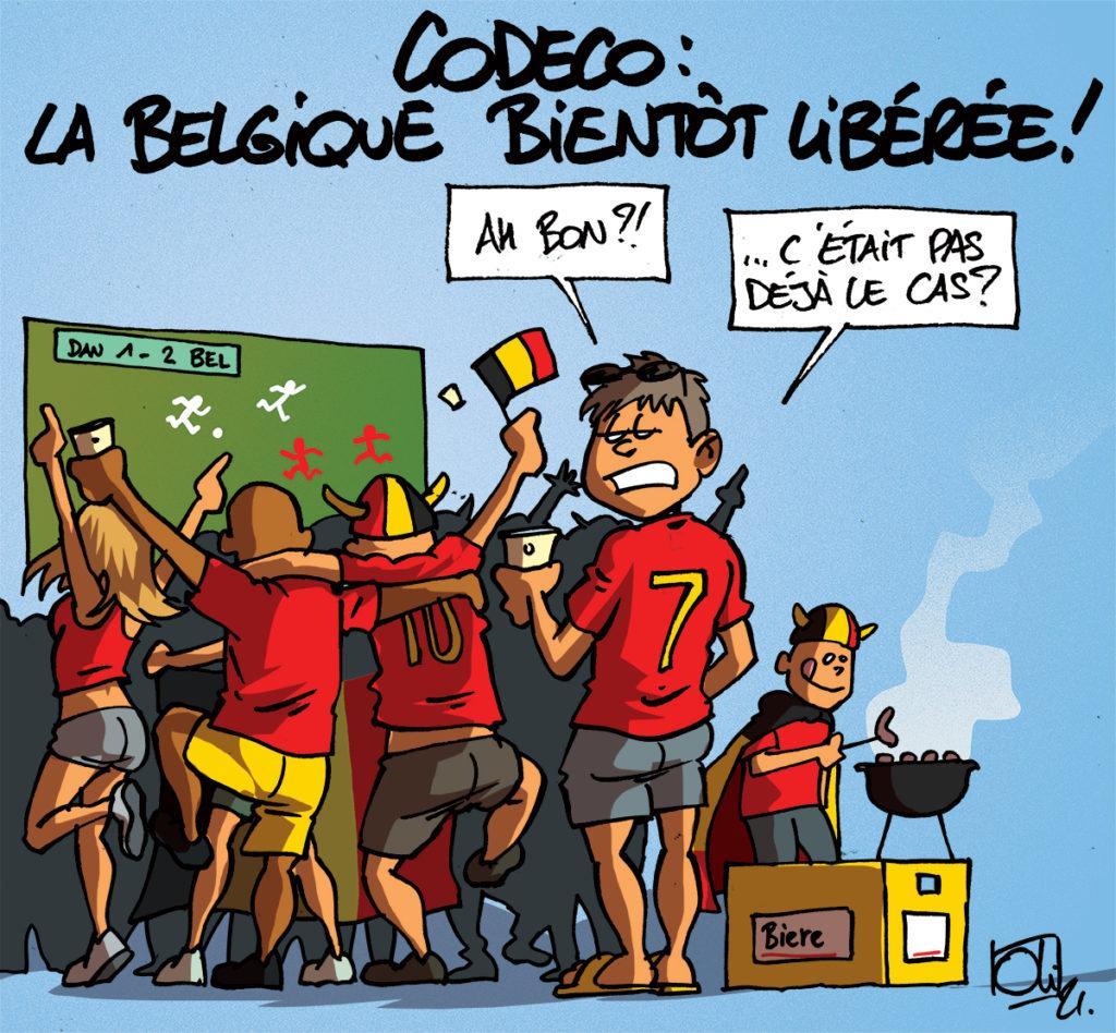 La Belgique bientôt libérée !