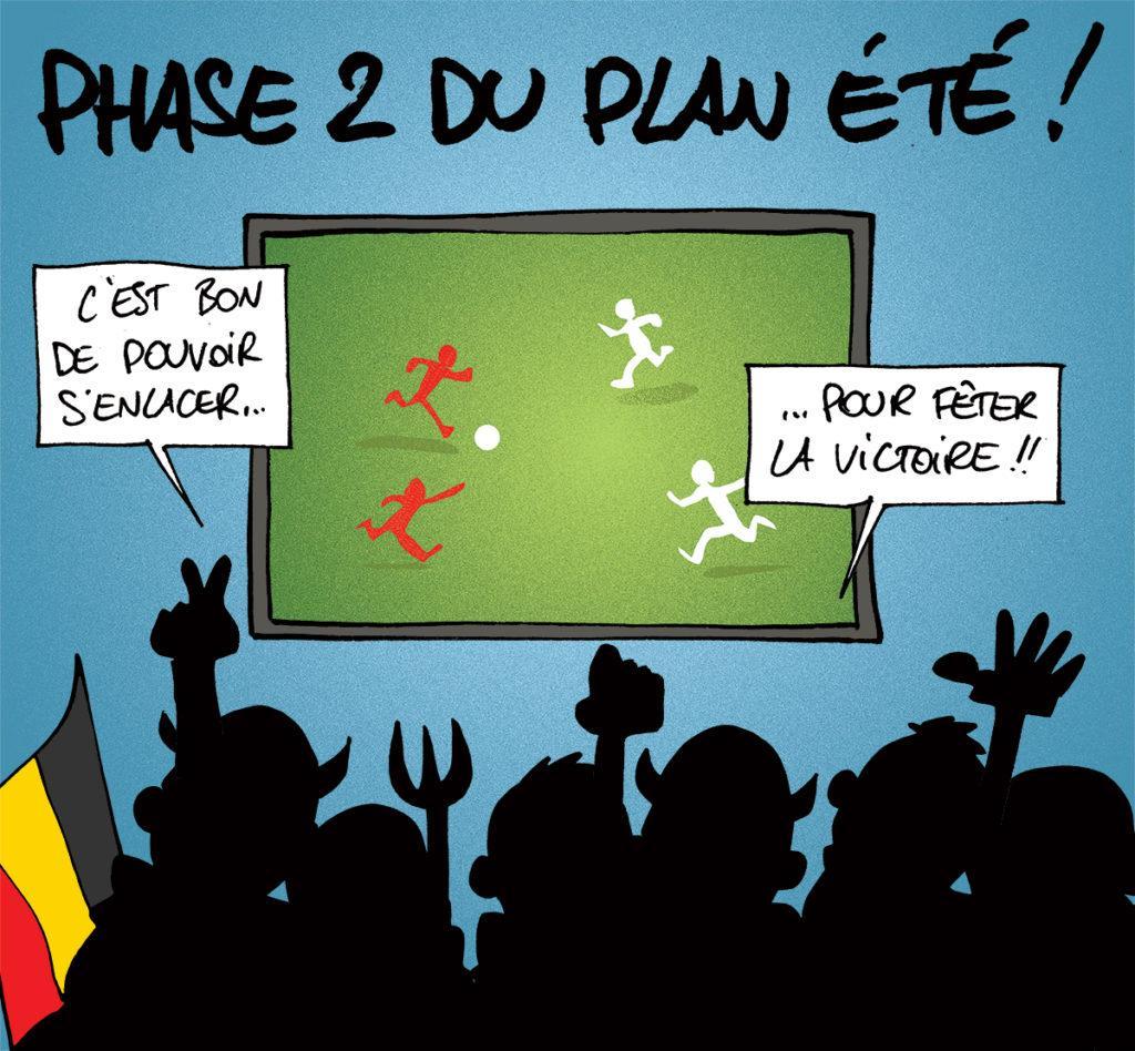 La Belgique bat le Portugal