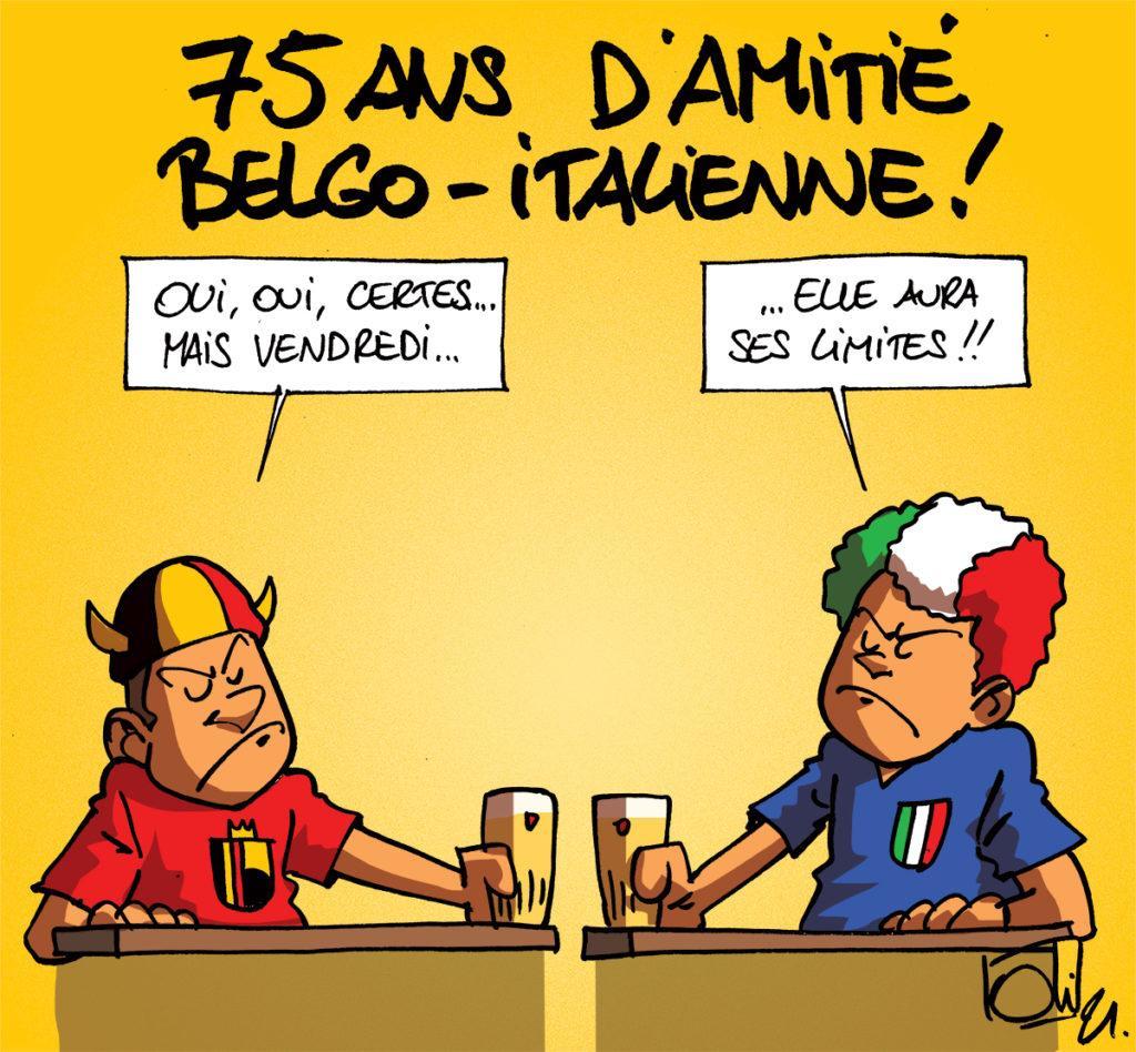 Belgique - Italie en quart