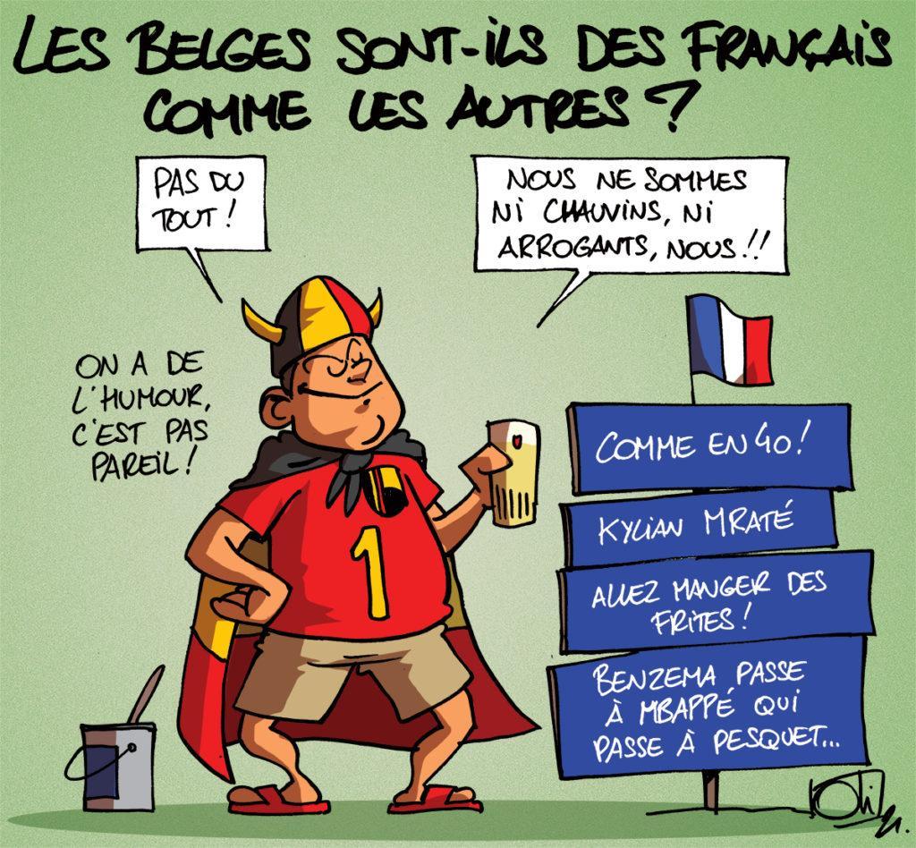 Rivalité franco-belge !
