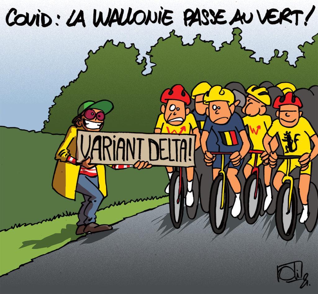 La Wallonie au vert !