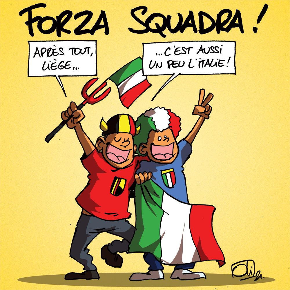 Italie - Angleterre !