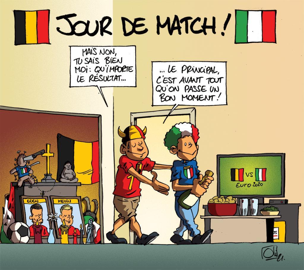 Belgique - Italie