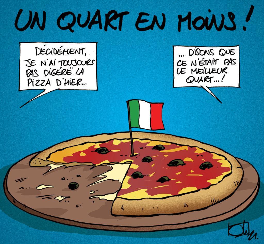La Belgique s'incline face à l'Italie