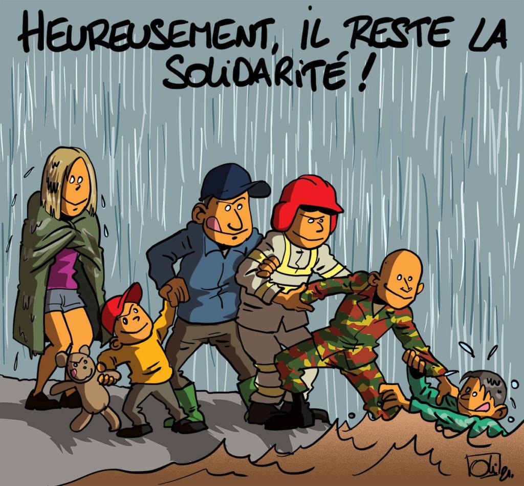 Quelle solidarité !