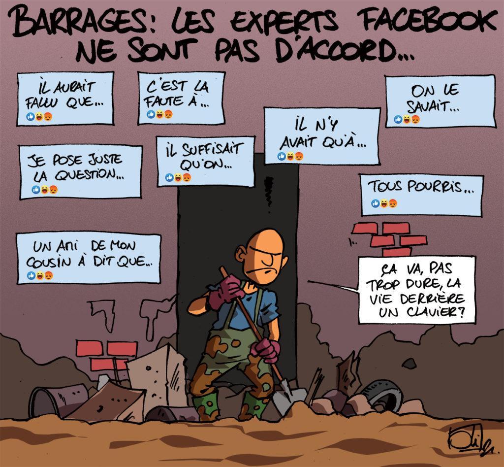 Les experts Facebook