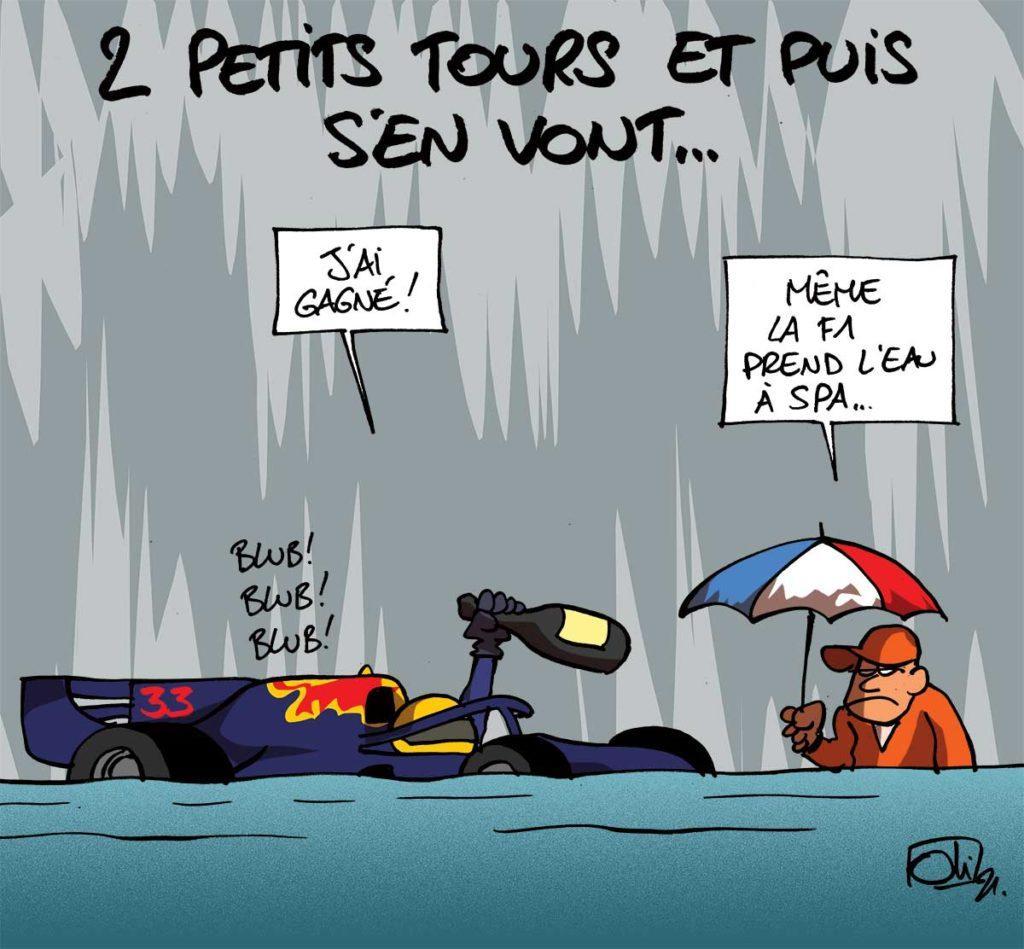 Ceci n'est pas un Grand Prix de F1 de Belgique...