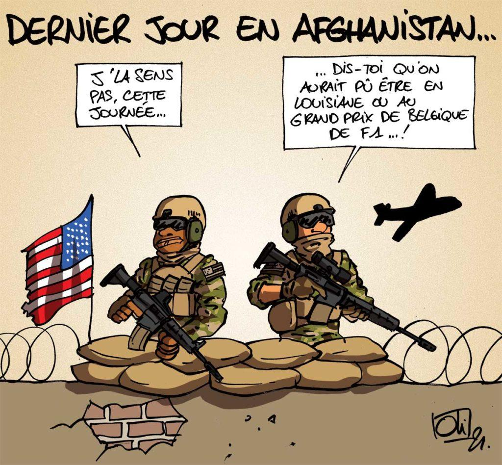 Départ d'Afghanistan