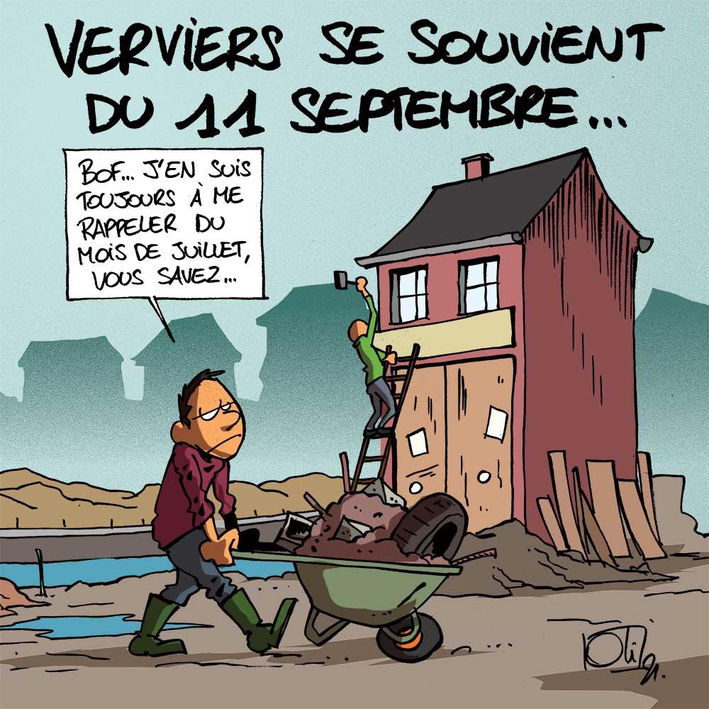 11/9 à Verviers