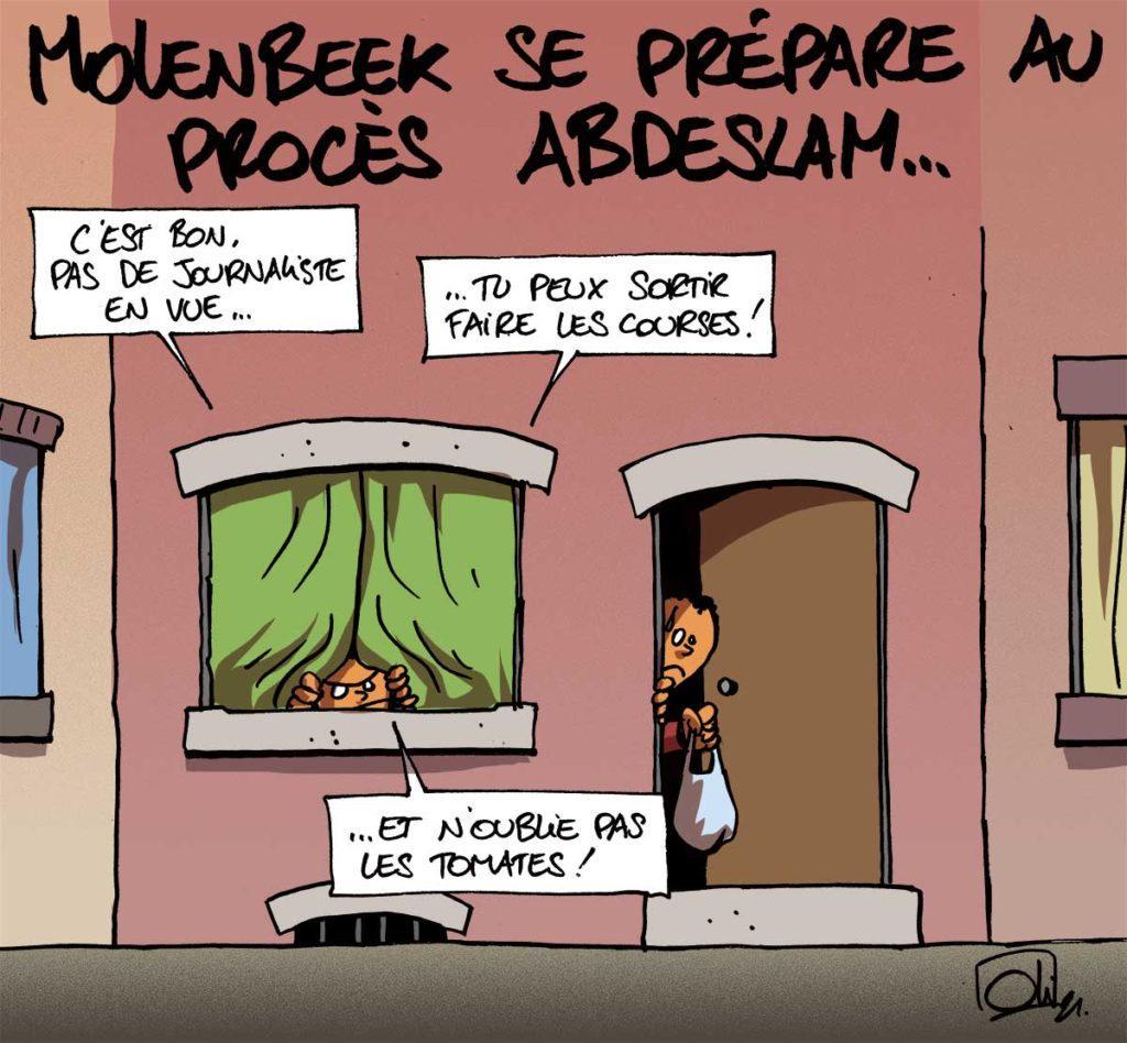 Molenbeek sous le feu des projecteur !