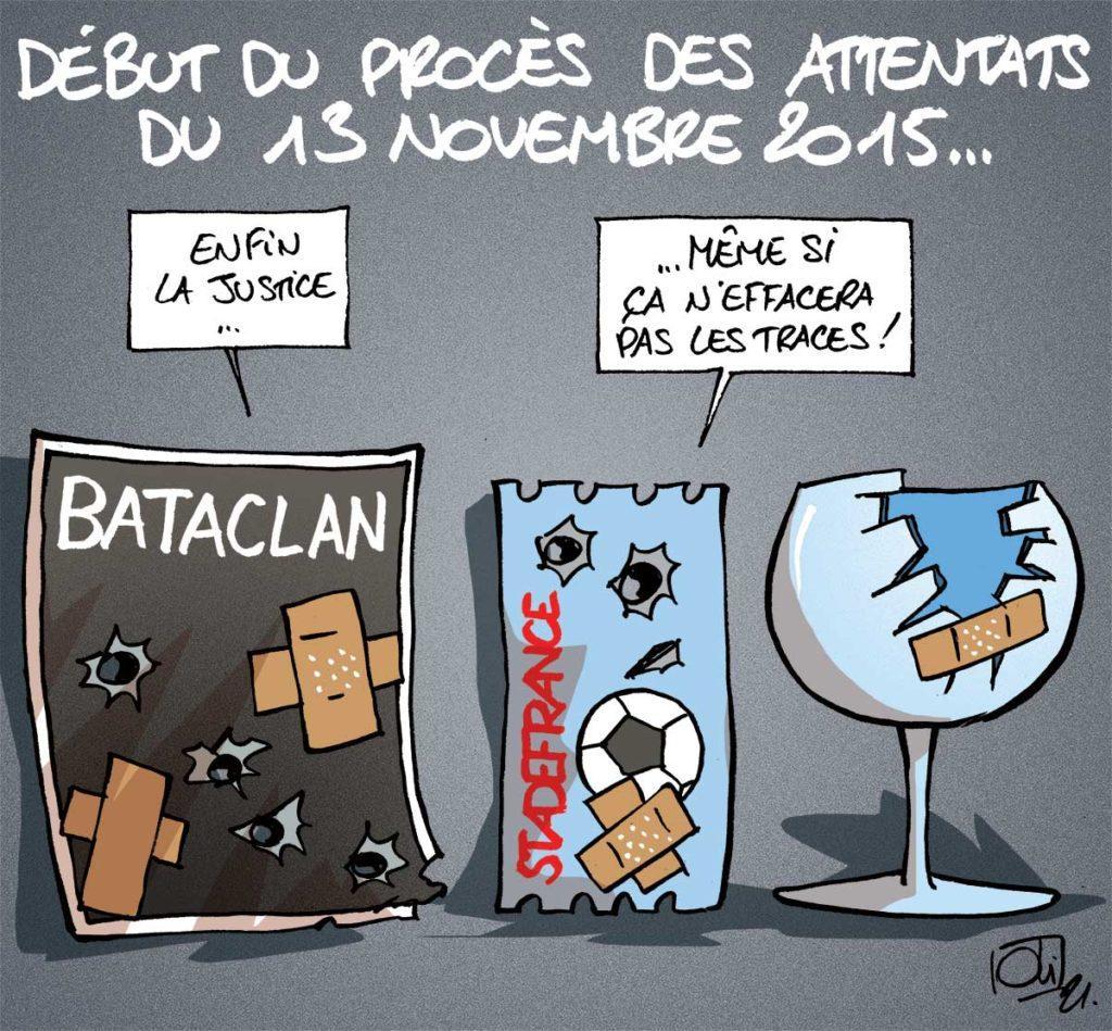 Le procès des attentats du 13 novembre 2015 à Paris