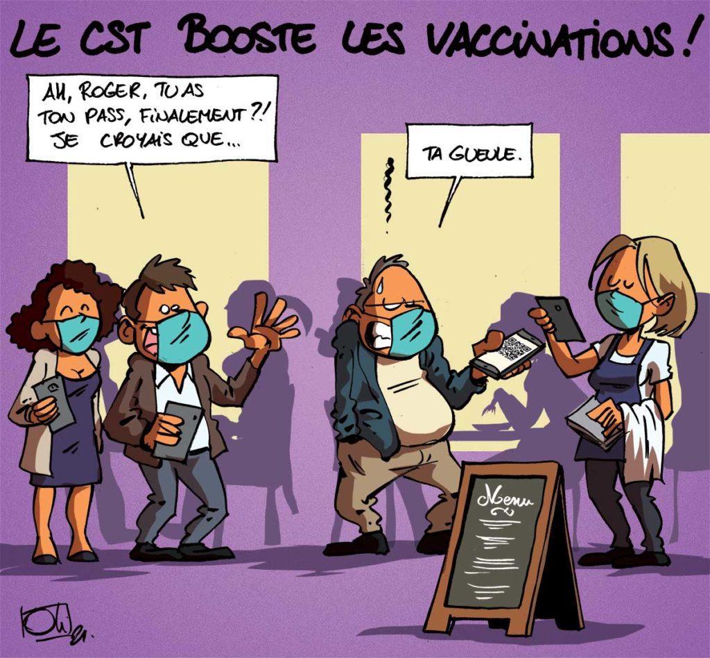 Le CST booste la vaccination !