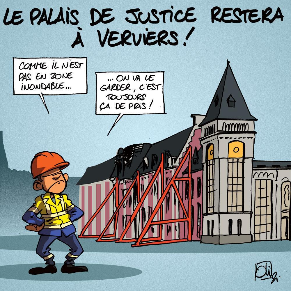 Le palais reste à Verviers