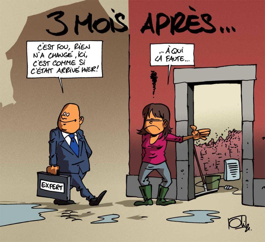 Verviers et sa région 3 mois après...
