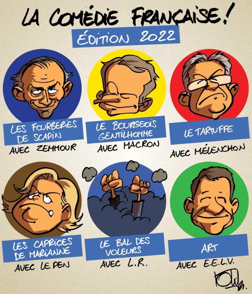 La comédie française 2022