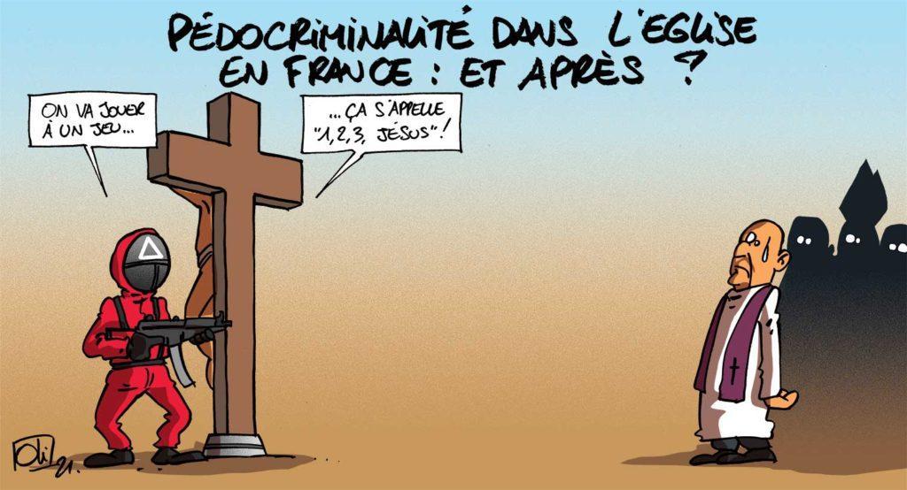 Pédocriminalité dans l'Eglise française