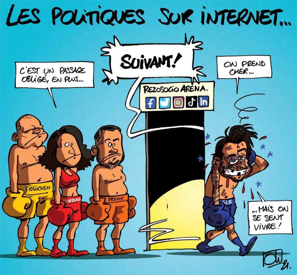 Menacés sur Internet !
