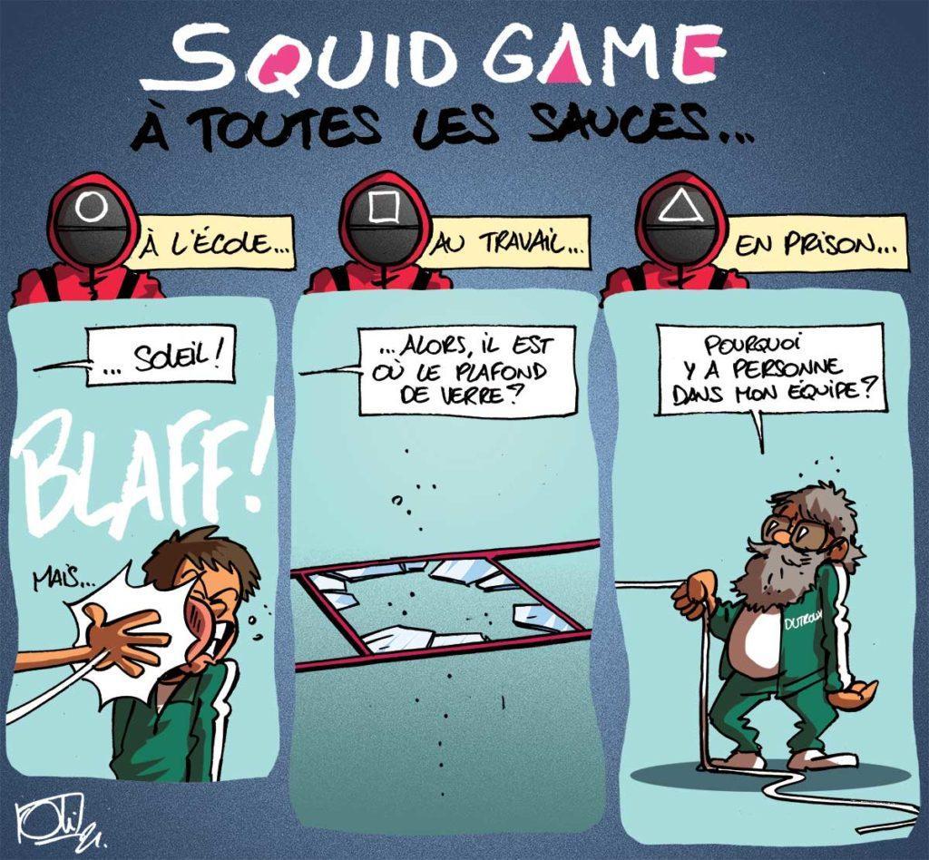 La folie Squid Game