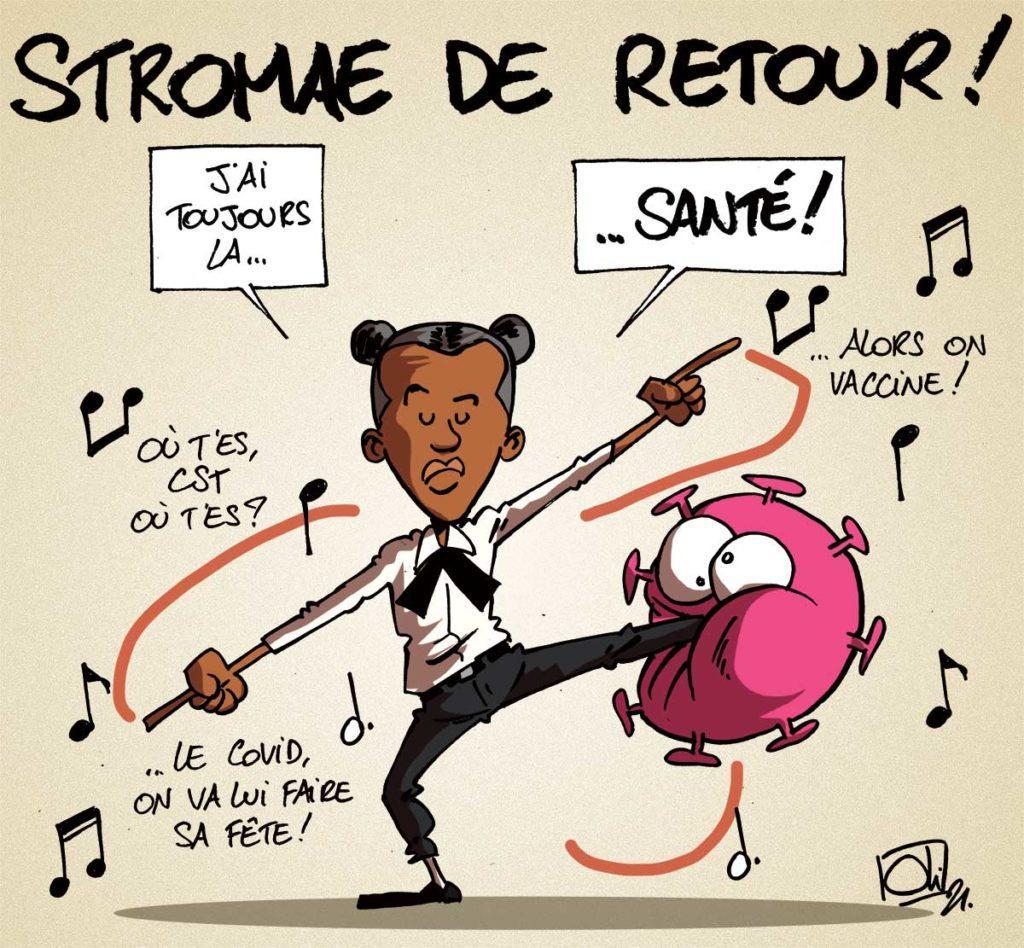 Santé, le nouveau Stromae