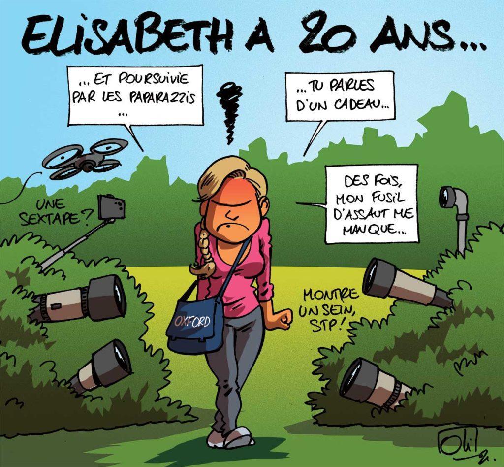 Elisabeth a 20 ans !